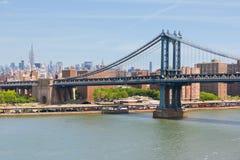 Manhattan bro Arkivfoto