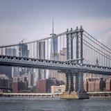 Manhattan bro 1 Royaltyfri Fotografi