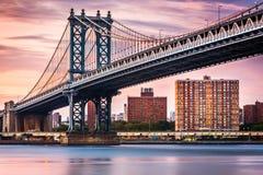 Manhattan bro i New York royaltyfri fotografi