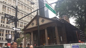 Manhattan Broadway Photos libres de droits