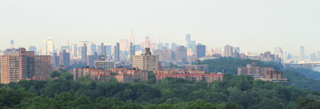 Manhattan from Bronx Royalty Free Stock Images