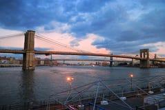 Manhattan Brooklyn Bridge Royalty Free Stock Image