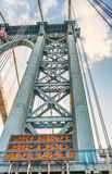 Manhattan brotorn, New York City Arkivfoto