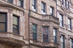 Manhattan brownstones Royalty Free Stock Photography
