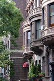 Manhattan brownstones ny Fotografia Royalty Free
