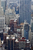 Manhattan buildings. Stock Photos