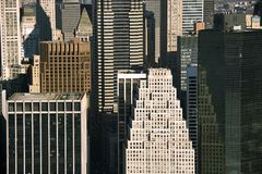Manhattan buildings. Royalty Free Stock Photo