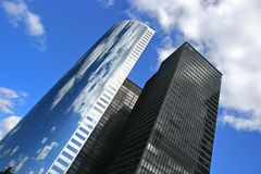 Manhattan buildings. Buildings in New York city Stock Photography