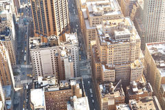 Manhattan buildings Royalty Free Stock Photography