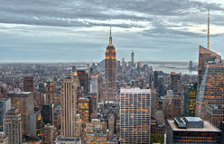 Manhattan buildings, New York City, USA Stock Photography