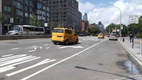 Manhattan céntrica almacen de metraje de vídeo