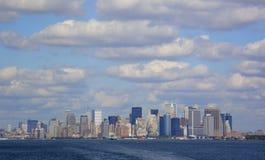 Manhattan céntrica fotografía de archivo