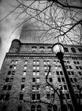 Manhattan, ciel mystique Photos stock