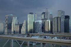 Manhattan city Royalty Free Stock Images