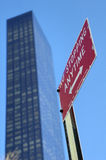 Manhattan city. In New York United States America Stock Photography