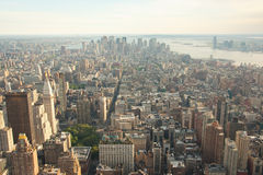 Manhattan city New York Royalty Free Stock Image