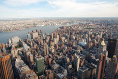 Manhattan city New York Royalty Free Stock Photography