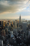 Manhattan City Skyline, New York City  Royalty Free Stock Photography