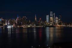Free Manhattan Cityscape Sunset2 Royalty Free Stock Photos - 138701088
