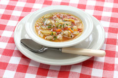 Manhattan clam chowder Royalty Free Stock Photos