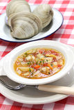 Manhattan clam chowder Stock Images