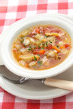 Manhattan clam chowder Royalty Free Stock Image
