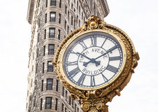 Manhattan Clock Stock Photography