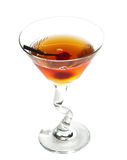 Manhattan cocktail Royalty Free Stock Photo
