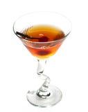 Manhattan cocktail royalty free stock photo