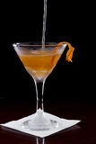 Manhattan cocktail Royalty Free Stock Photos