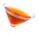 Manhattan cocktail Royalty Free Stock Image
