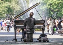 Manhattan, Concert, Solo, Piano Royalty Free Stock Image