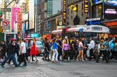 Manhattan Crossing Stock Photo