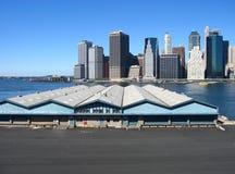 Manhattan da baixa Fotos de Stock Royalty Free
