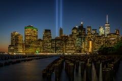 Manhattan da baixa, New York Imagem de Stock