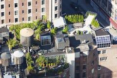 Manhattan-Dach-Gärten, redaktionell stockfotos