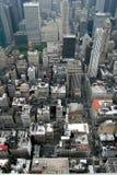 Manhattan dalle Empire State Building Fotografie Stock