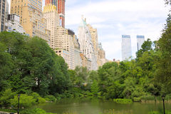 Manhattan de Central Park imagenes de archivo