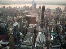 Manhattan de ci-avant Image libre de droits