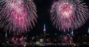 Manhattan 4de Juli Royalty-vrije Stock Foto's