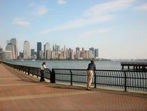 Manhattan de observação Imagem de Stock Royalty Free