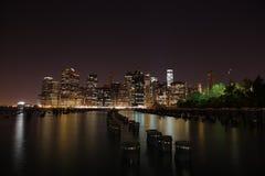 manhattan De Stad van New York De Verenigde Staten van Amerika Stock Foto's