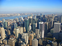 Manhattan del noroeste, Nueva York Fotografía de archivo libre de regalías