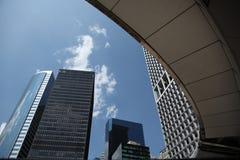 Manhattan do centro Fotos de Stock Royalty Free