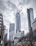 Manhattan, Downtown District stock image