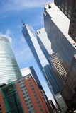 Manhattan downtown financial district, New York  - USA Stock Photography