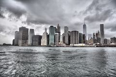 Manhattan Downtown Royalty Free Stock Photo