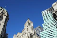 Manhattan Downtown Royalty Free Stock Photos