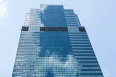 Manhattan drapacz chmur, Nowy Jork Zdjęcia Royalty Free