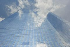 Manhattan drapacz chmur, Nowy Jork miasto Zdjęcia Stock